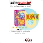 Bon Plan Belin : Crackers Best Of à 0,04€ chez Intermarché - anti-crise.fr