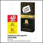 Bon Plan Capsules Carte Noire pour Nespresso chez Carrefour - anti-crise.fr
