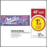 Bon Plan Tablettes de Chocolat Extra-Gourmand Milka chez Hyper U - anti-crise.fr