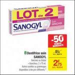 Bon Plan Dentifrice Soin Sanogyl chez Carrefour - anti-crise.fr