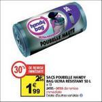Bon Plan Sacs Poubelle Handy Bag chez Auchan - anti-crise.fr