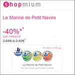 Offre de Remboursement Shopmium : 40% sur Le Mariné de Petit Navire - anti-crise.fr