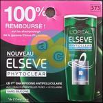 Offre de Remboursement Elsève : Shampoing Phytoclear 100% Remboursé chez Carrefour - anti-crise.fr