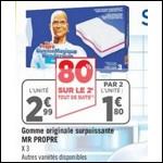 Bon Plan Gommes Mr Propre chez Géant Casino - anti-crise.fr