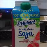 Offre de Remboursement St Hubert : Boisson Les P'tits Plaisirs Soja 100% Remboursé - anti-crise.fr