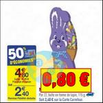 Bon Plan Milka : Napolitains (lapin) à 0,80€ chez Carrefour - anti-crise.fr