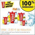 Offre de Remboursement FidMe : Votre Pack Vittel 100% Remboursé - anti-crise.fr