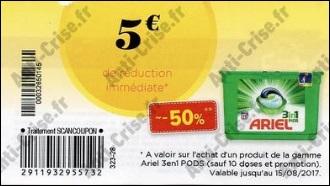 Bon Plan Lessive Ariel Pods Chez Cora Catalogues Promos Bons Plans Economisez Anti Crise Fr
