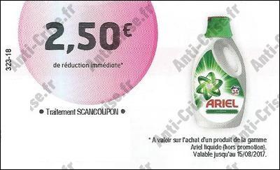 Bon Plan Lessive Ariel Baby Chez Carrefour Catalogues Promos Bons Plans Economisez Anti Crise Fr