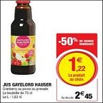 Bon Plan Jus Gayelord Hauser chez Magasins U - anti-crise.fr