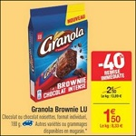 Bon Plan Brownies Granola chez Carrefour - anti-crise.fr