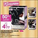 Bon Plan Coloration Pro Color Schwarzkopf chez Carrefour Market - anti-crise.fr