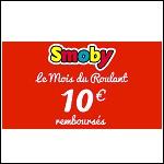 Offre de Remboursement Smoby : 5€ ou 10€ Remboursés - anti-crise.fr