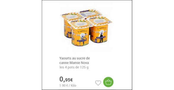 Bon Plan Yaourts Mamie Nova au Sucre de Canne - anti-crise.fr
