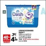 Bon Plan Lessive Dash Perles chez Auchan - anti-crise.fr