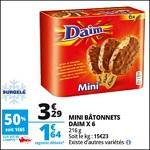 Bon Plan Mini Batônnets Daim chez Auchan - anti-crise.fr