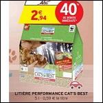 Bon Plan Litière pour Chat Cat's Best chez Intermarché - ant-crise.fr