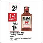 Bon Plan Sauce Made For Meat Kuhne chez Géant Casino - anti-crise.fr