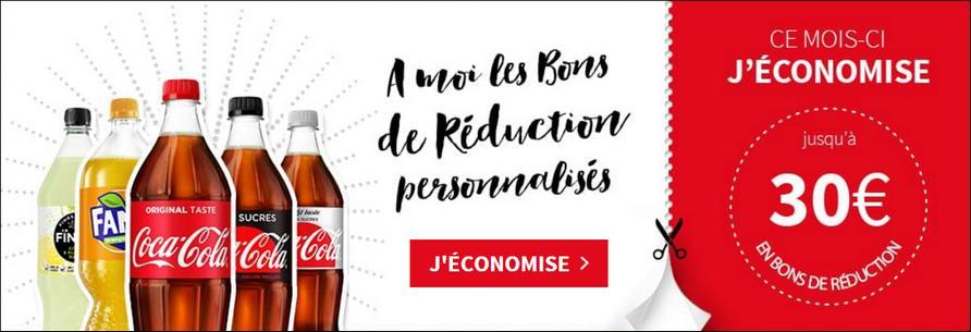 Bons de Réduction Coca-Cola, Fanta, Finley, Nestea, Sprite, Powerade, Capri-Sun, Monster, Burn et Ocean Spray - anti-crise.fr