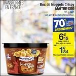 Bon Plan Box de Nuggets Maître Coq chez Carrefour - anti-crise.fr
