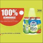 Offre de Remboursement Lactel Bio : Votre Pack Entier ou Ecrémé 100% remboursé en 2 Bons - anti-crise.fr