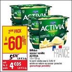 Bon Plan Yaourts Activa chez Cora - anti-crise.fr