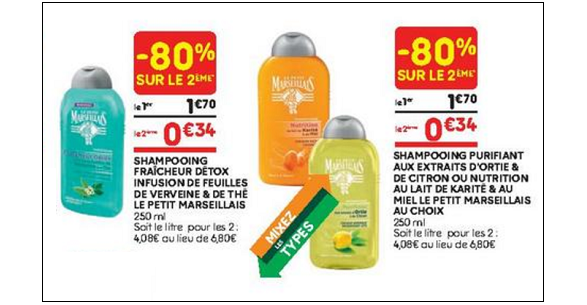 Bon Plan Shampooing Le Petit Marseillais chez Leader Price - anti-crise.fr