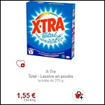 Bon Plan Lessive en Poudre X Tra 5 Doses chez Intermarché - anti-crise.fr