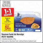 Bon Plan Saumon de Norvège Petit Navire chez Carrefour - anti-crise.fr