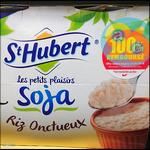 Offre de Remboursement St Hubert : Les Petits Plaisirs Soja Riz 100% Remboursés - anti-crise.fr