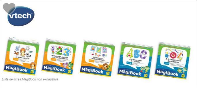 Bon Plan Vtech 2 Livres Magibook Achetes 3eme Offert