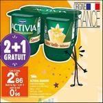 Bon Plan Activia Saveur chez Carrefour Market - anti-crise.fr