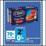 Bon Plan Pulpe de Tomate Cirio chez Auchan - anti-crise.fr