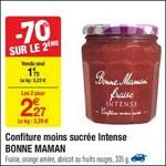 Bon Plan Confiture Intense Bonne Maman chez Carrefour - anti-crise.fr