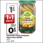 Bon Plan Cornichons Aigre-Doux Kuhne chez Géant Casino - anti-crise.fr