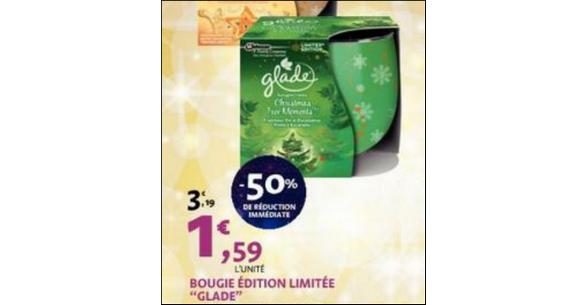 Bon Plan Bougie Glade chez Leclerc - anti-crise.fr
