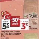 Bon Plan Croquettes pour Chat Beyond chez Géant Casino - anti-crise.fr