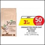 Bon Plan Croquettes pour Chat Beyond chez Intermarché - anti-crise.fr
