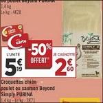 Bon Plan Croquettes pour Chien Beyond chez Géant Casino - anti-crise.fr