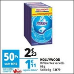 Bon Plan Chewing-Gum Hollywood chez Auchan - anti-crise.fr