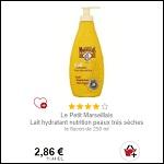 Bon Plan Lait Coprs Hydratant Le Petit Marseillais Partout - anti-crise.fr