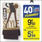 Bon Plan Collants Style de Dim chez Carrefour- anti-crise.fr