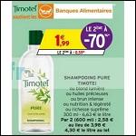 Bon Plan Shampoing Timotei chez Intermarché - anti-crise.fr