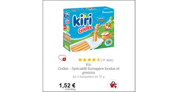 Bon Plan Kiri Goûter chez Intermarché - anti-crise.fr