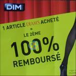Offre de Remboursement Dim : 2ème Produit Diam's 100% Remboursé - anti-crise.fr