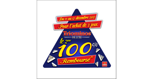 Offre de Remboursement Goliath : 2ème Jeu Triominos 100% Remboursé - anti-crise.fr
