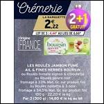 Bon Plan Roulés Jambon Poivre Boursin Apéritif chez Intermarché - anti-crise.fr