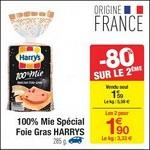 Bon Plan Harry's 100% Mie Spécial Foie Gras chez Carrefour - anti-crise.fr