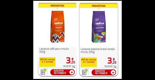 Bon Plan Café Moulu Brazil ou Peru Lavazza chez Auchan - anti-crise.fr