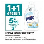 Bon Plan Lessive Mir White chez Carrefour Market - anti-crise.fr